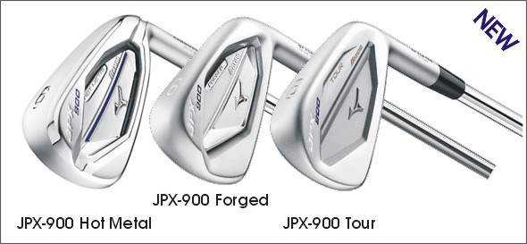 Mizuno JPX-900 Hot Metal, Forged & Tour Iron Sets
